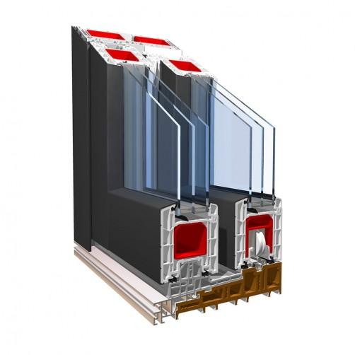 Drsni sistemi Pronorm Premidoor 88 ALUCLIP