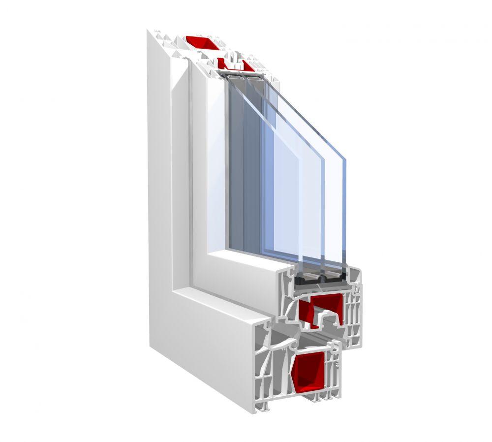 PVC okno Pronorm 88MD