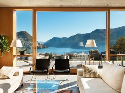 Lesena okna - design