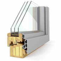 Pronorm lesena okna