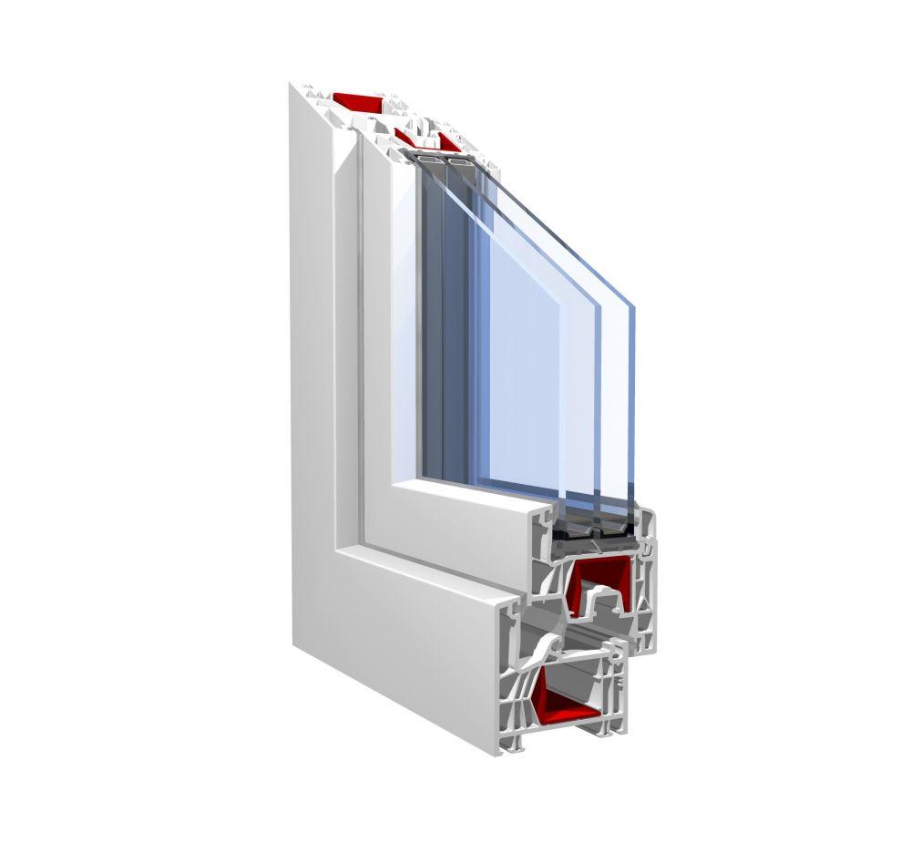 PVC okna Pronorm 76 MD