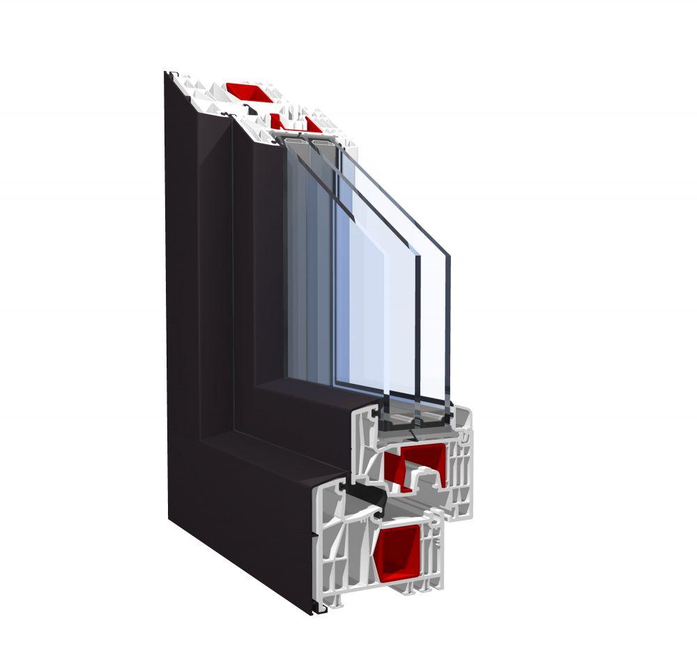 Pronorm PVC okna - Pronorm 88MD
