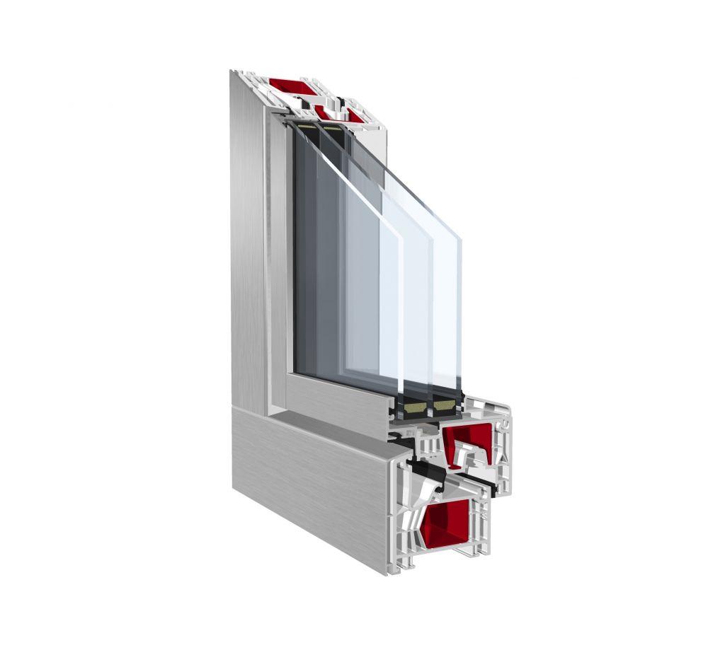 Okno Pronorm 76MD ZERO