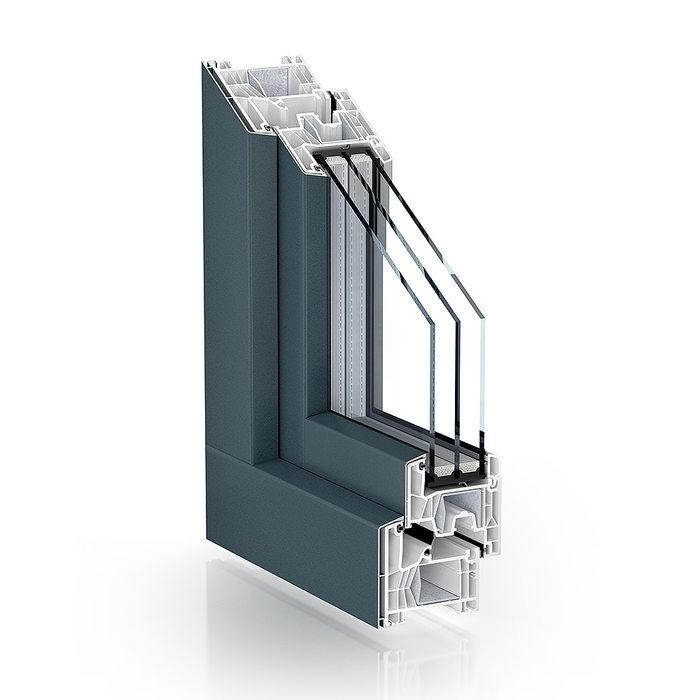 Okno Pronorm 76 ALU