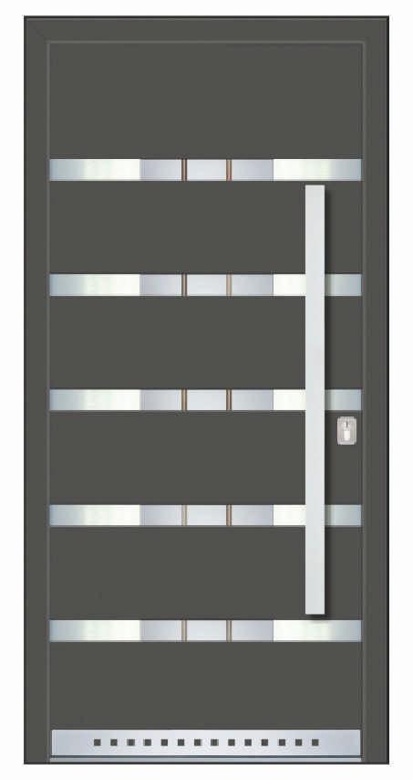 Pronorm PVC vrata 76HT ELITE ZERO - Lisabon
