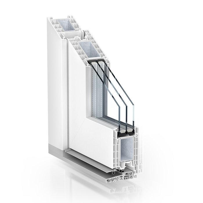 Pronorm PVC vrata 76 HT