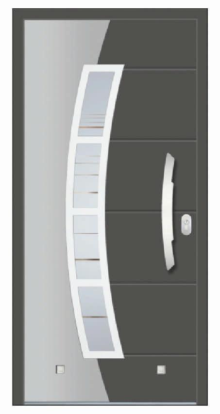 Pronorm PVC vrata 76HT ELITE ZERO - Vaduz