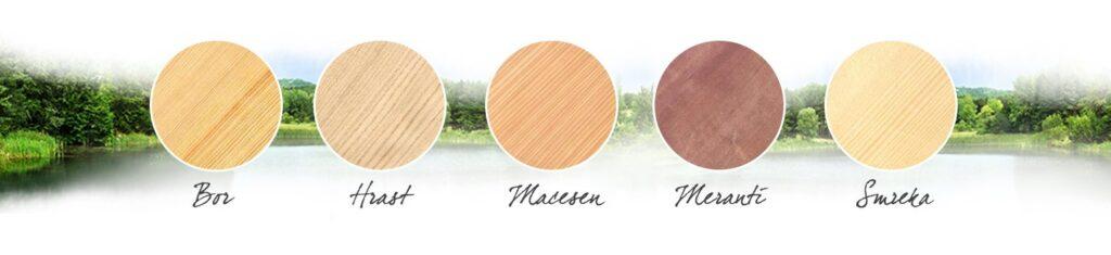 Barve lesenih oken PRONORM