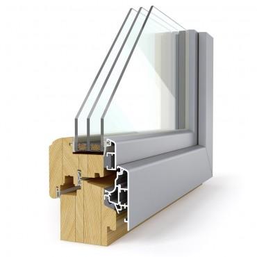 Lesena okna PRONORM Elegant 78