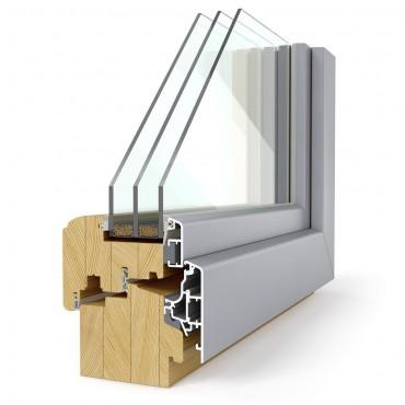 Lesena okna PRONORM Elegant 92